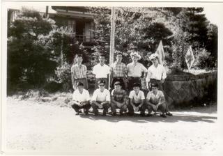 9期 夏合宿 佐久海のく口温泉1960年8.25.jpg