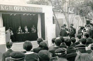 02・1966. S41 11月 KGB記念祭 旧局室前サテライトスタジオ.jpg